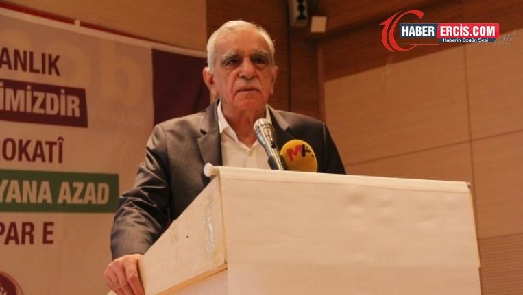 Ahmet Türk: Muhatap Kürt halkı ve aktörleridir