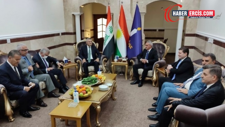 CHP heyetinin Federe Kürdistan'daki temasları sürüyor