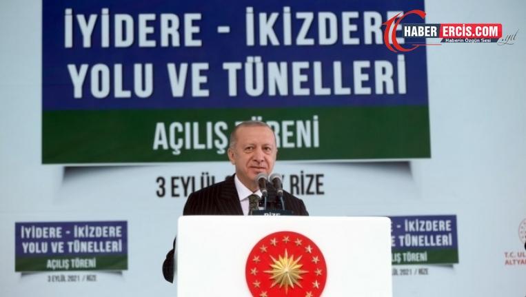 Erdoğan Rize'de İkizdereli köylüleri hedef aldı