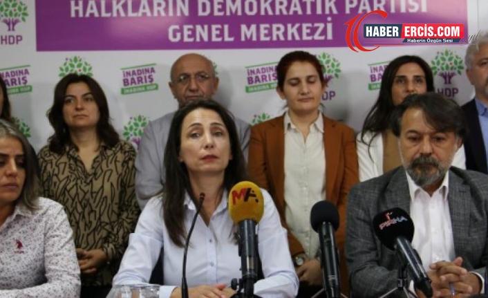 """HDP'li Hatimoğulları: """"Silahlı iki sivil 'polisiz' diyerek kapıma dayandı"""""""