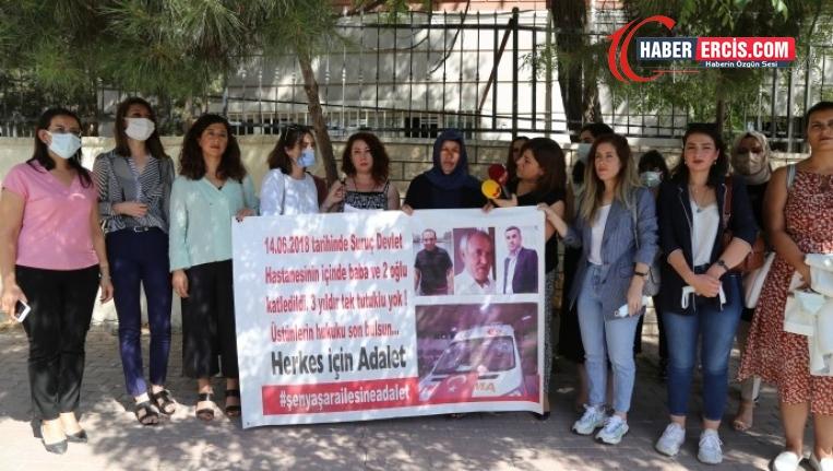 Kadın avukatlardan Emine Şenyaşar'a destek
