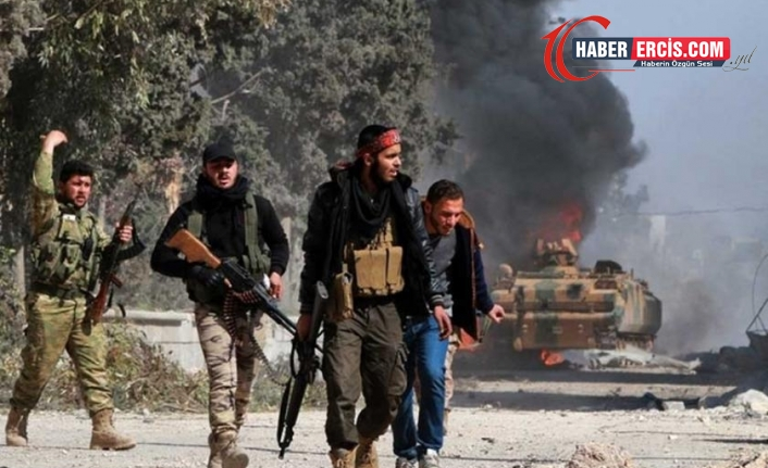 Rusya Efrin'de Türkiye destekli grupları vurdu