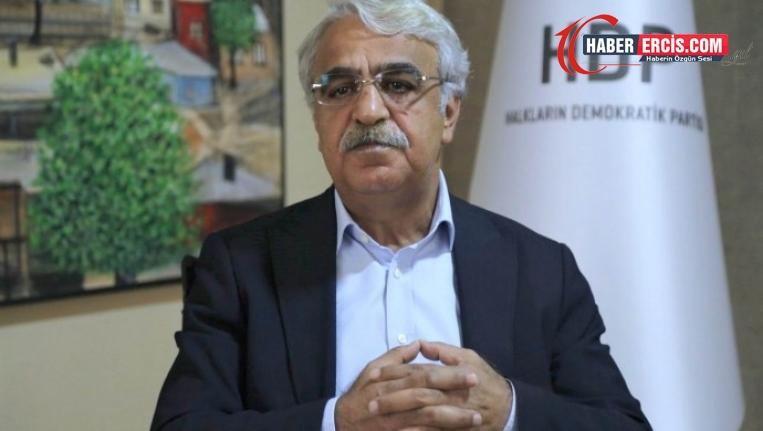 Sancar: Çözümün adresi Meclis'tir, hiçbir aktör göz ardı edilemez