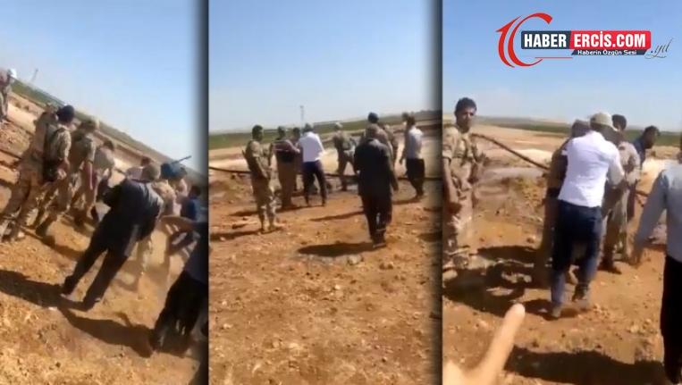 Trafo sökümüne karşı çıkan çiftçiye asker şiddeti