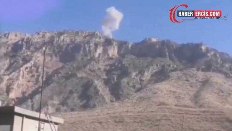 TSK uçakları Şêladizê'yi bombaladı
