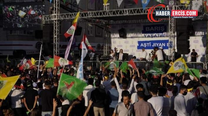 Van'da konuşan Buldan: Ülke savaşlara sürükleniyor, çözüm tecridin kaldırılmasında