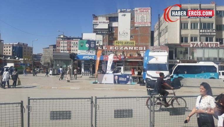 Van'da her türlü eylem sadece AKP'ye serbest!