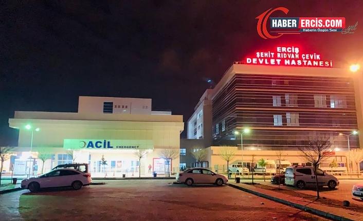Erciş'te trafik kazası: 8 yaralı
