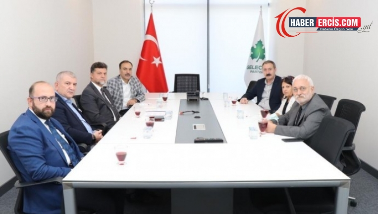 HDP'den Gelecek Partisi'ne deklarasyon ziyareti