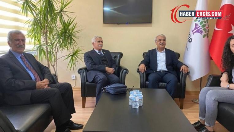 HDP'ye Kürdistan Sosyalist Partisi'nden ziyaret