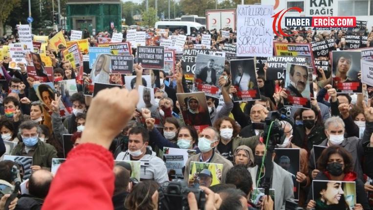Kadıköy'den haykıran binler: 10 Ekim'i unutturmayacağız