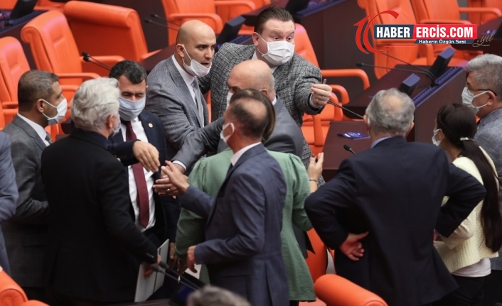 MHP'li vekilin inkar ettiği hakaret tutanaklara yansıdı
