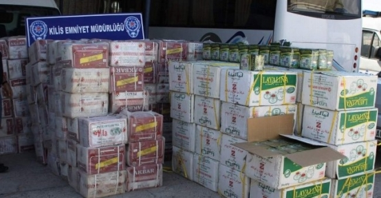 5 Bin 840 Paket Kaçak Sigara İle 795 Kilo Kaçak Çay Ele Geçirildi