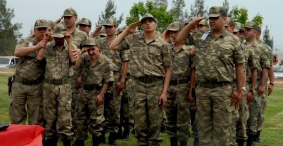 Diyarbakır'da Engelliler 1 Günlük Temsili Askerlik Yaptı