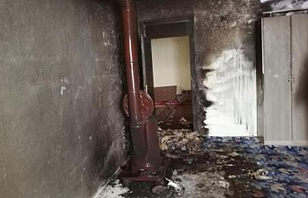 Hakkari'de Soba patladı: 2 kardeş yaralı