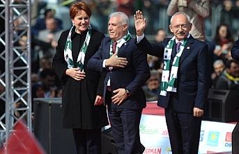 Akşener  ve Kılıçdaroğlu'ndan Bursa'da ortak miting: Onlardan korkan onlar gibi olsun