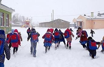 7 ilde Okullara kar tatili; Erciş'te eğitime yarın da ara verildi