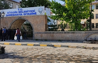 HDP'li Diyadin Belediyesi'ne polis baskını