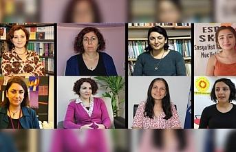 Kadınların gözaltına alınmasına tepki yağdı