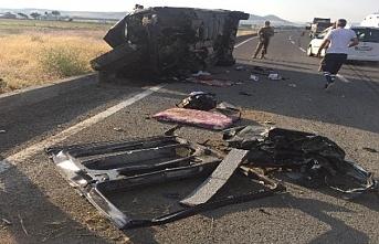 Patnos'ta trafik kazası: 2'si çocuk 3 ölü