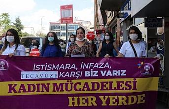 Van'da istismar protestosu: 'Tecavüz insanlık suçudur aklanamaz!'