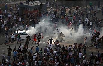Beyrut'ta 'patlama' protestosu: 1 ölü, 490 yaralı
