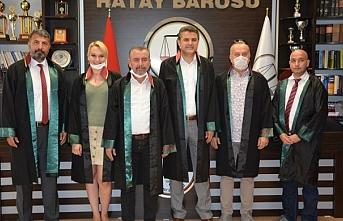 Hatay Barosu Başkanı'na 72 barodan destek