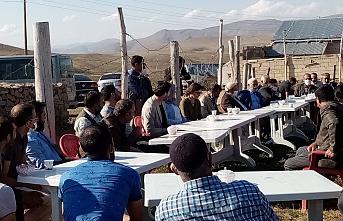 Van'da HDP'den Baykara'nın ailesine başlığı ziyareti