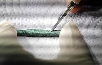 Gürpınar'da Tunç Çağı'na ait mimari izlere rastlandı