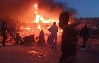 Dêrazor-Tedmur yolunda saldırı: 30 ölü