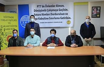 HABER-SEN: PTT emekçileri artık yoruldu
