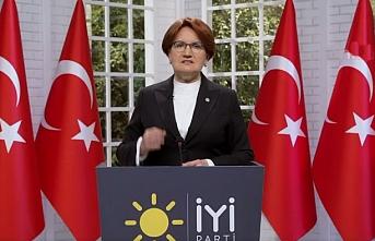Akşener'den Erdoğan'a: Makamının farkına var kendine gel artık