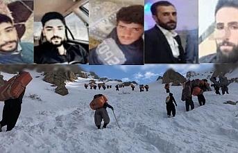 İran Van sınırında çığ: 5 kolber halen kayıp