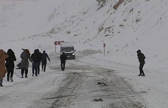 Serhat bölgesi için kar uyarısı