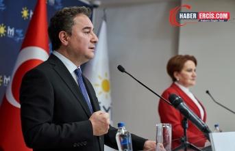 Akşener ve Babacan'dan 'anayasa' açıklaması