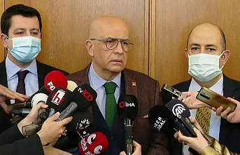 Enis Berberoğlu, yaklaşık 8 ay sonra yeniden Meclis'e geldi
