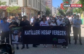 Van'da HDP'ye yönelik saldırıya tepki