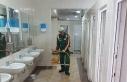 AKP'li belediye cami tuvaletlerinin temizliği...