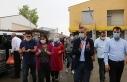 Diyadin'de belediyeye baskın protesto edildi