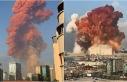 Beyrut liman bölgesinde şiddetli patlama