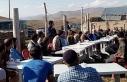 Van'da HDP'den Baykara'nın ailesine başlığı...