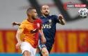 Galatasaray Fenerbahçe derbisinin ilk yarısı golsüz...