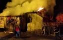 Bingöl'de sobadan çıkan kıvılcım evi yaktı
