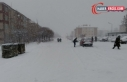 Erciş'te yoğun kar yağışı: Serhat'ta...