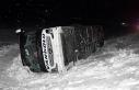 Van'ın yolcu otobüsü kaza yaptı: 5 yaralı
