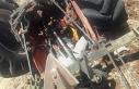 Traktörü devrilen çiftçi yaşamını yitirdi