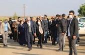 Ailesinden 3 kişiyi kaybeden Ahmet Türk'e taziye ziyareti