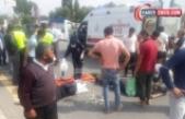 Erciş'te Motosiklet Kazası 3 Yaralı