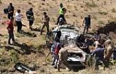 Ağrı'da trafik kazası: 2'si çocuk 4 kişi hayatını kaybetti