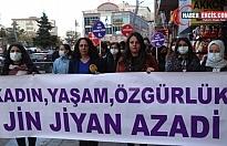 Gökkan'a verilen ceza Van'da protesto edildi
